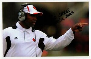 Charlie-Strong-HAND-SIGNED-5x7-Photograph-University-of-South-Florida-USF