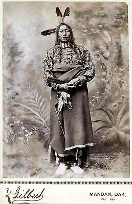"CROW photo 20/""x16/"" Native American Indian Photograph western antique decor"