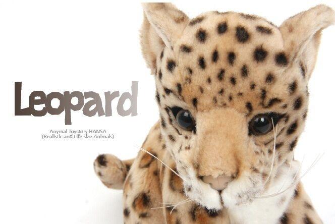 Miss oh   gefllte weichen weichen spielzeug baby leopard stofftier realistisch   3423 18  20cm