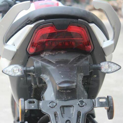 Turn Signal Amber Light Indicator Blinker For 8mm Kawasaki KTM Yamaha Honda