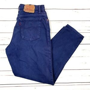 0aa71c13 Vtg 90s Levi's 551 Relaxed Fit Tapered Leg Retro High Waisted Denim ...