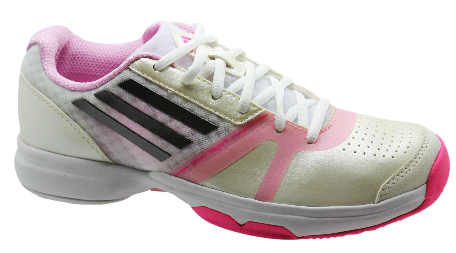 Adidas Sports Galaxy Allegra III Womens Trainers Tennis Tennis Tennis shoes Lace Up M19766 U39 b1c366