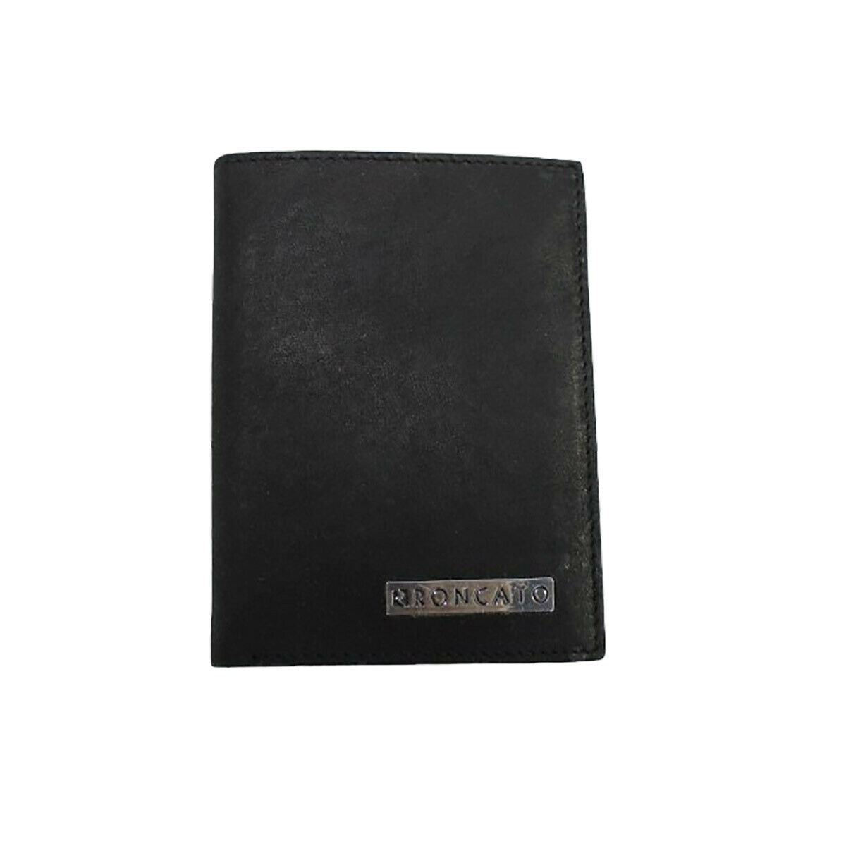 Men's Vertical Leather Wallet Credit Card Holder Photo Banknote R Roncato