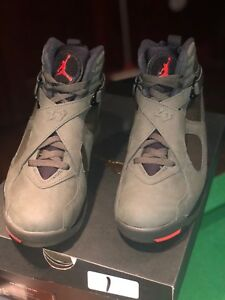 official photos aa238 ff2f4 Details about Jordan Retro 8 Olive Green Size 9 DS