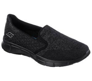 Details about Skechers EQUALIZER SAY SOMETHING Memory Foam Slip On Women Shoes 12182BBK