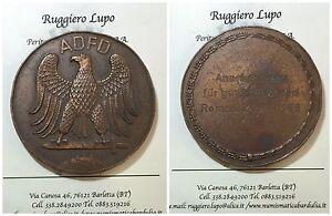 Medaille-Adfd-Anerkennung-Fourrure-Gutes-Fechten-Cloture-Roma-23-26-4-1966-MM