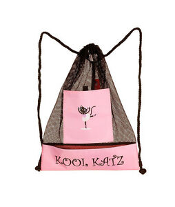 Rosa Pequeña Danza Tap Ballet Jazz Swim Gym Shoe Bag Por Katz Dancewear kb3s