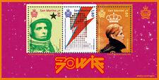 2017 San Marino foglietto 70° nascita David Bowie nuovo ** MNH