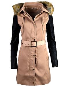 Blogger Damen Trenchcoat Frühling Mantel Jacke Übergangs Herbst x66YUrZq