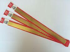 K&S Metal Brass Strip 1.57 x 19.05 x 305mm Pack Of 3 KS8247