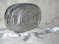 Vince Camuto Silver Cosmetic Bag. Authentic. New.