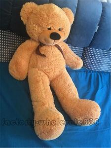 "GIANT HUGE Big 39/"" TEDDY BEAR Brown SOFT Toys Animals STUFFED PLUSH  bears gift"