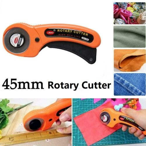 1Pc Scale Blade 45mm Rotary Cutter Sewing Quilters Fabric Leather Cutting Tool