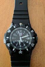 Mens Luminox 3000/3900 Series NAVY SEALS Swiss Made Dive Watch Black 200 meter