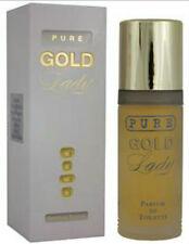 PURE GOLD LADY MILTON LLOYD 50ML PARFUM DE TOILETTE /PERFUME  WOMEN   X TWO