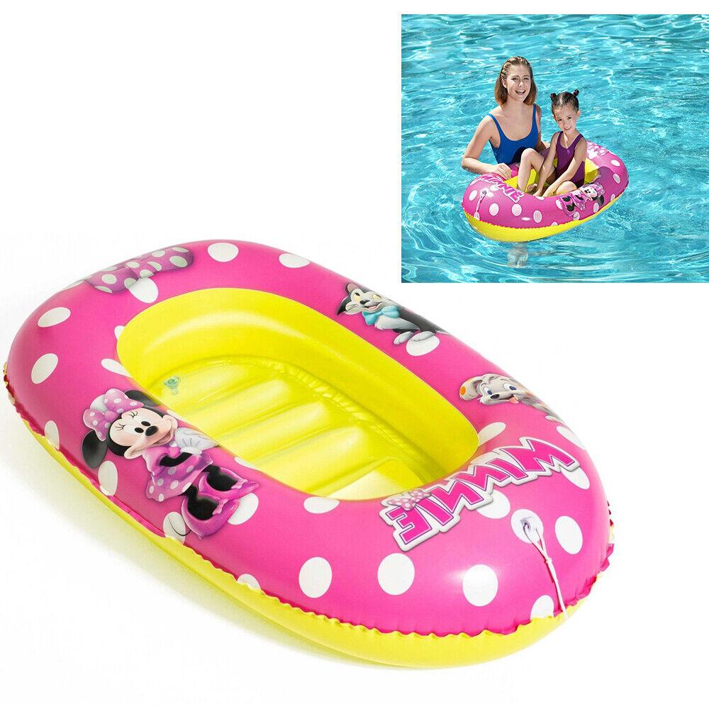 Dinghy Inflatable Minnie 112 X 71 CM Sea Pool Float Dinghy 3378