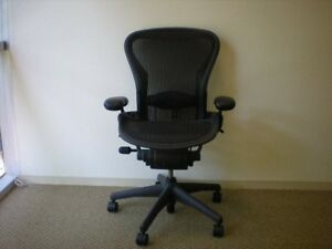 image is loading herman miller aeron chair size c large fully - Aeron Chair Sizes