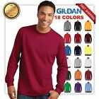 NEW MANS GILDAN LONG Sleeves t shirt Softstyle Adult casual Tee G5400 CLEARANCE!
