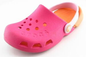 Crocs-Pink-Synthetic-Casual-Shoes-Toddler-Girls-Sz-12