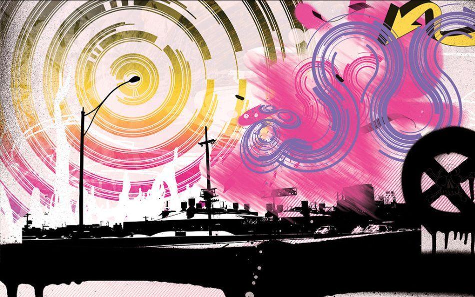 3D Welt der Farben 646 Fototapeten Wandbild Fototapete BildTapete FamilieDE