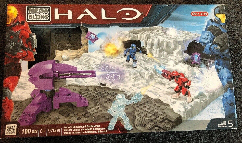 Halo Mega Bloks 97068 Versus  Snowbound battlescape BNIB Sealed Target Exclusive