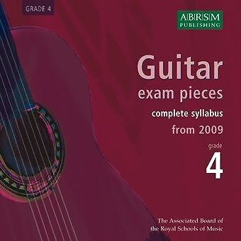 ABRSM: Guitar Exam Pieces From 2009 - Grade Four (CD) Guitar CD Backing Tracks