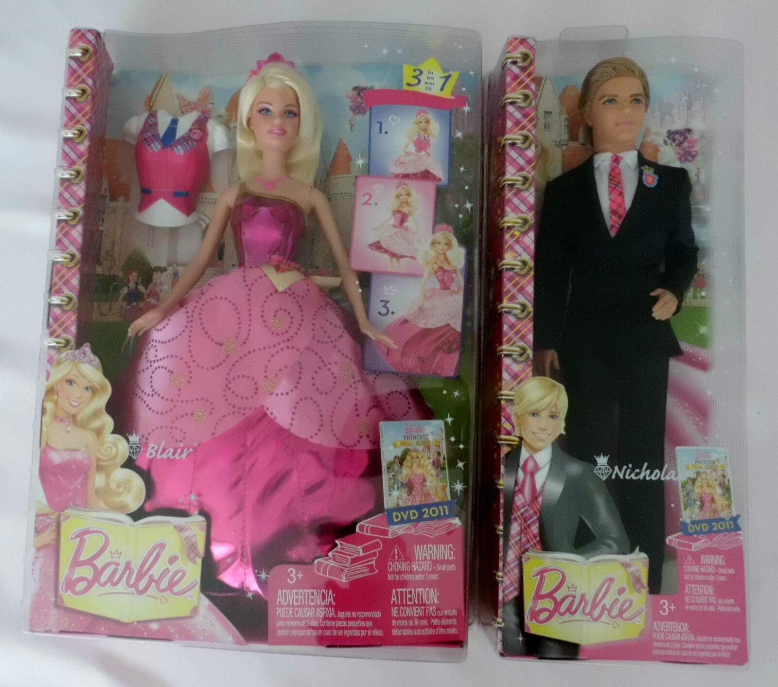 Barbie Prinzessinnen Akademie Blair oder Nicholas NEU/OVP