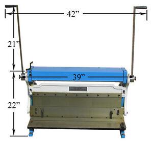 30-034-x-20-GAUGE-Sheet-Metal-Shear-Finger-Pan-Box-Brake-Bender-Slip-Roll-Roller
