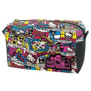 aa7ac7de2c Image is loading Hello-Kitty-Sanrio-Friends-Comic-Cosmetic-Pouch-Bag-
