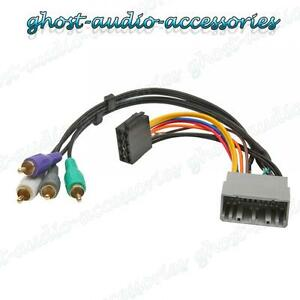 Jeep Wrangler Car Stereo Radio Wiring Harness Iso Lead Wiring ... on auto stereo harness, stereo wiring adapter, stereo wiring kit, seat belt harness, stereo cable,