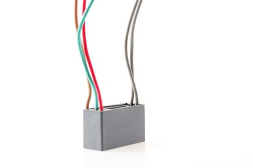 Condensador De Ventilador De Techo CBB61 3.5uf+4uf+2.5uf 5 Hilos 250 V 300 V AC EE