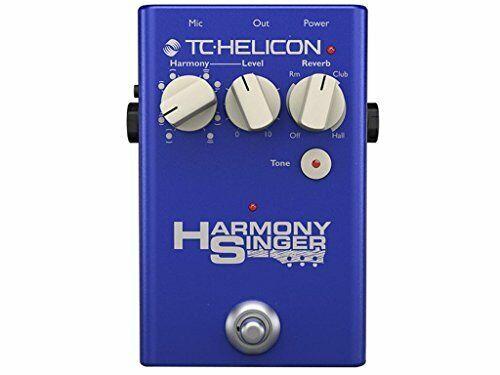 TC-HELICON Harmony Singer 2 Gitarren-Vokal-Effektor New Japan Tracking