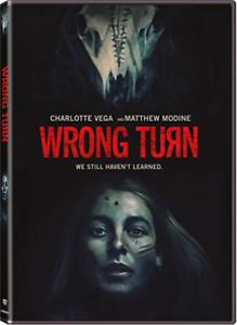 WRONG TURN THE FOUNDATION-WRONG TURN THE FOUNDATION DVD NEW