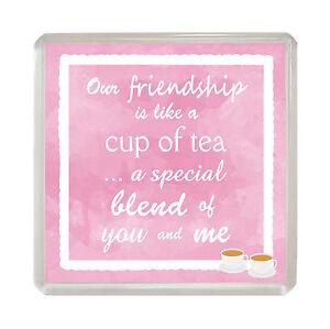 our friendship novelty fridge magnet fun sentimental best friend