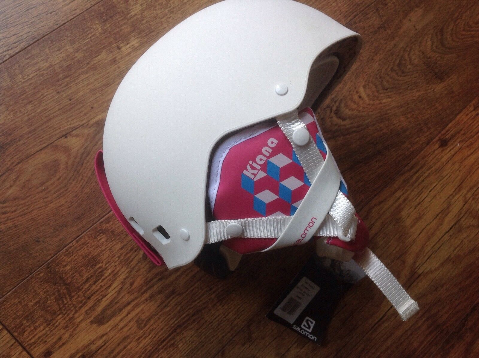 Salomon KIANA White Matt Junior Ski Helmet 55-58cm Medium