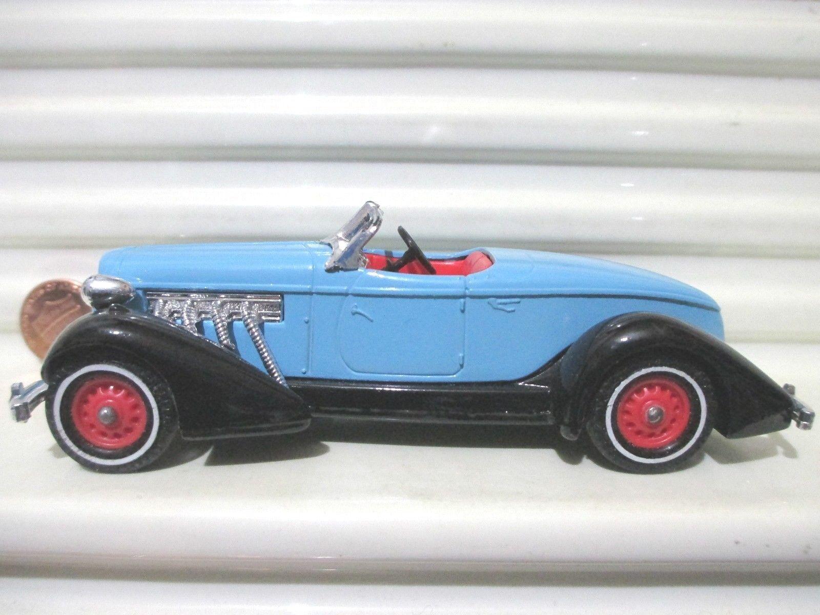 Matchbox Models of Yesteryear 1995 Y19A blu 1936 AUBURN SPEEDSTER 851 Mint Boxd