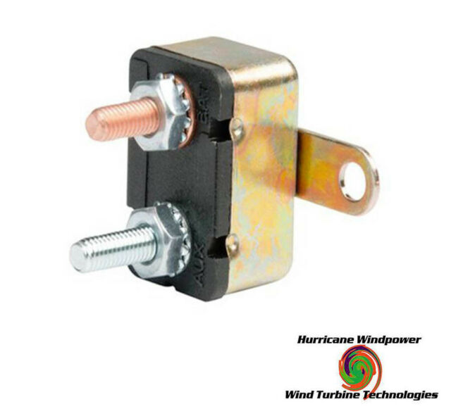 Short Stop 12V 6A Circuit Breaker Metal Body Auto Reset 121H0600M Bussmann