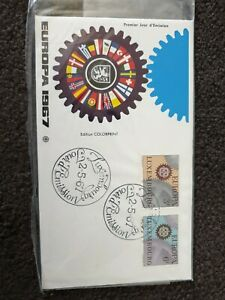 Lucembourg 1967 Europa JourD Emission Cancels & Stamps FDC Cover
