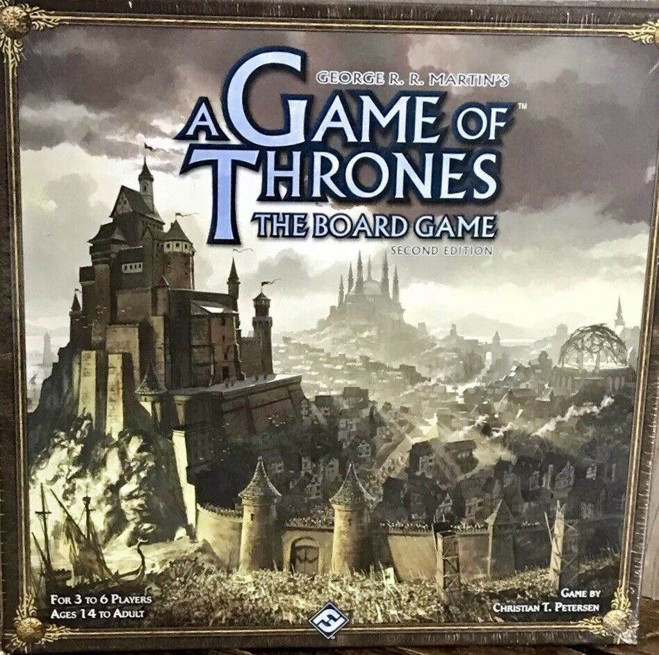 Game Of Thrones Jon Snow Board Game 2nd Edition HBO Series GoT