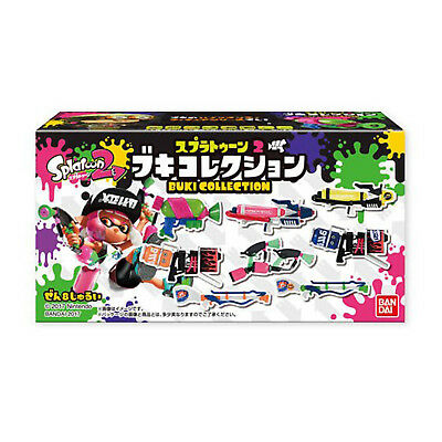 BANDAI Splatoon Weapon Collection 3 Collectable Minature Display stand included