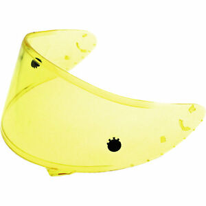 x Shoei Motorcycle Helmet Replacement Nxr Hd Visor 3 Cwr spirit f Race Yellow rqtAr