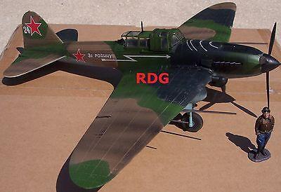 FIGARTI WW2 RUSSIAN EFR-010 IL-2M STURMOVIK GROUND ATTACK AIRCRAFT MIB