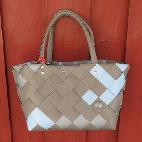 Einkaufskorb ICE BAG 5008 05 Mini Shopper taupe hellblau Witzgall Tasche