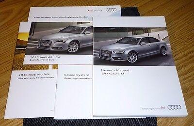 Automotive Parts & Accessories 2009 Audi A4 Avant Owners Manual ...