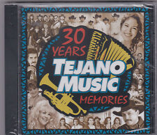 """30 Years of Tejano Music Memories""-Vol.1-.Tejano Tex Mex Latin CD SEALED (#379)"