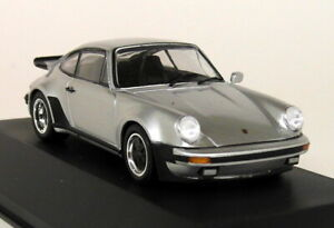 Atlas-1-43-Scale-005-Porsche-911-Turbo-1975-Silver-930-Diecast-model-Car