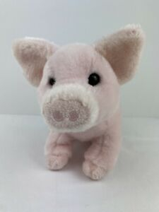 Douglas-Buttons-Plush-Pig-Stuffed-Animal-Toy-Pink-Piglet-Cuddle-Toy-6-Tall-Cute