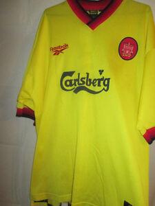 da7399f49e83 Image is loading Liverpool-1997-1999-Away-Football-Shirt-large-reebok-