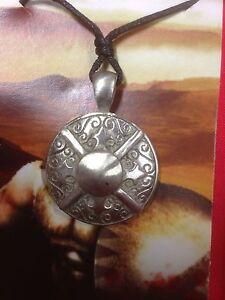 Greek-Shield-Pewter-Pendant