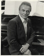 ALAN JAY LERNER on Secombe With Music(Yorshire TV 1982)Original press  photo